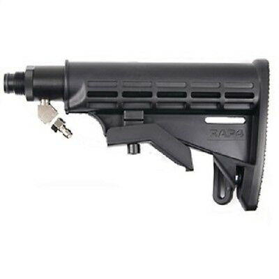Solid ASA Adapter & Buttstock Kit to connect Paintball Remote Line