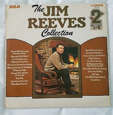 The Jim Reeves collection LP record