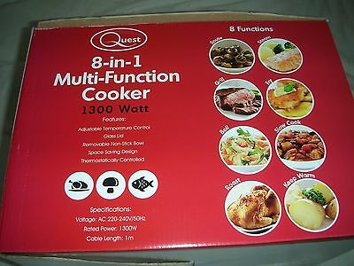 Multi function cooker - 8 in 1