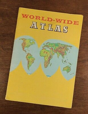 1967 Paperback World - Wide Atlas