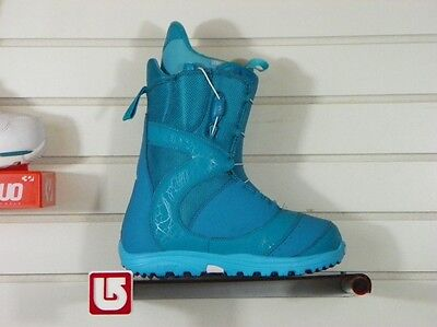 New 2014 Burton Mint Snowboard Boots Wmns Size 7 The Teal Deal