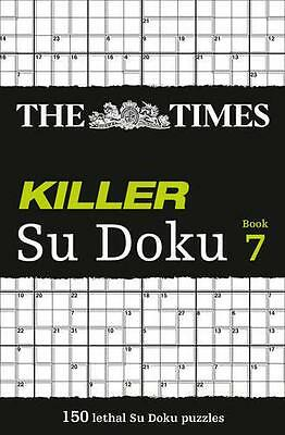 The Times Killer Su Doku Book 7, Puzzler Media | Paperback Book | 9780007364541