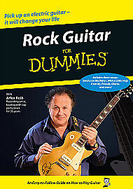 Rock Guitar For Dummies (DVD, 2012) NEW AND SEALED
