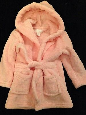 Pink Dressing Gown, Size 6-12 Months, New Without Tags