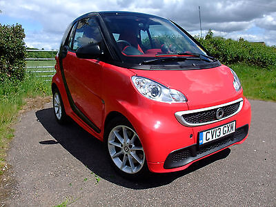 "2013 13 REG Smart fortwo 1.0 mhd) Passion auto sat nav"" FREE DELIVERY""."
