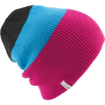 4e41fe9aaaf NEW COAL FRENA Short Beanie Black Stripe -  12.97