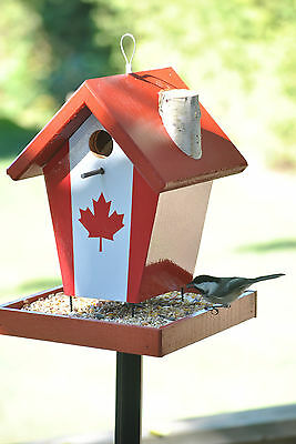 Canada Flag Bird Feeder