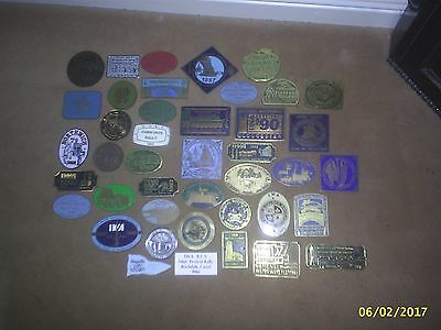 Collection of Waterways Rally Plaques