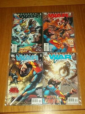 Superman War Of The Supermen #1-4 Dc Comics 2010 Set James Robinson (4)