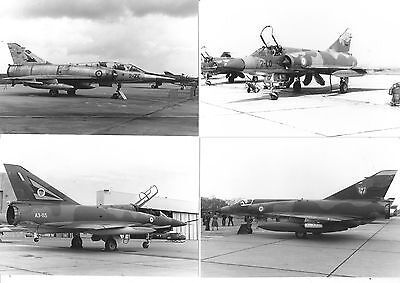 x10  ORIGINAL  DASSAULT MIRAGE PHOTOGRAPHS,   6x4 inch