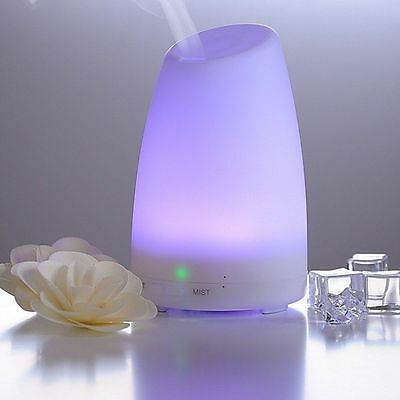Diffusore Di Aromi, Aromaterapia, Purificatore d'aria con 7 colori LED da 120ML