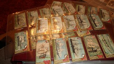 Kinney Bros (U.s.a.) Naval Vessels Of The World Set Of 25 Cigarette Cards 1889