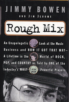 """BOOK """"Rough Mix"""" by Jimmy Bowen Hardcover"""