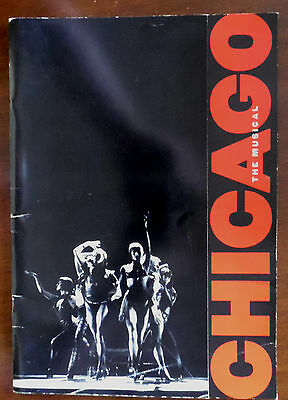 Chicago,The Musical, Souvenir Brochure,First Performance Adelphi 8th Nov 97