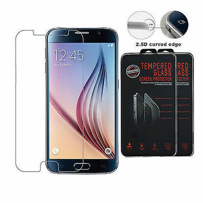 Samsung Galaxy S6 S7 Genuine Premium Tempered Glass LCD Screen Protector
