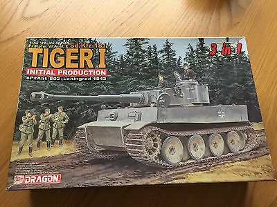 New  Dragon Tiger 1 Initial Production   1/35  6252