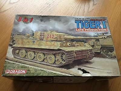 New  Dragon Tiger 1 Late Production   1/35  6253