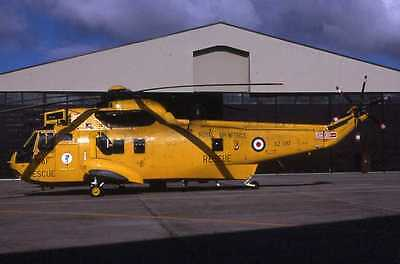 Original aircraft  slide   RAF  SEAKING   XZ587