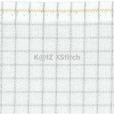 25 COUNT ZWEIGART EASY COUNT LUGANA EVENWEAVE CROSS STITCH FABRIC Various Sizes