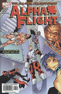 Alpha Flight (2004 3rd Series) #4 VF