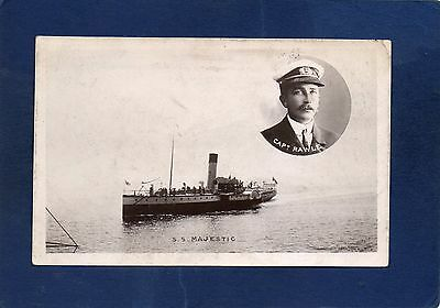 mm#2) SS MAJESTIC *GOOD RP POSTCARD-SHIPS