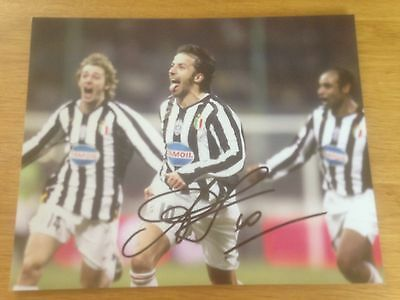 Alessandro Del Piero signed Juventus 10x8 inch photo with COA Sale Italy