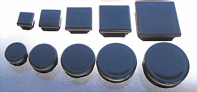Set of 4 Round or Square Inserts Chair Table Cap Stool Leg Glide Cap Feet Plug