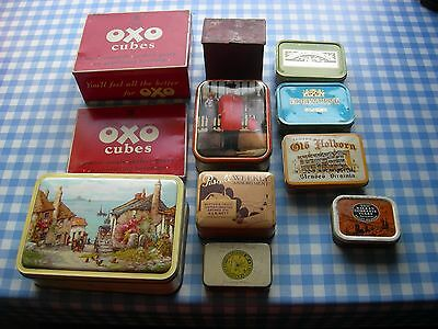 Job Lot - Vintage Tins - Mixed