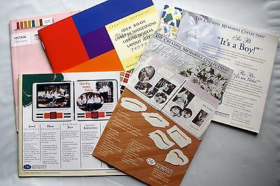 Creative Memories Variety of Idea Page Layout books
