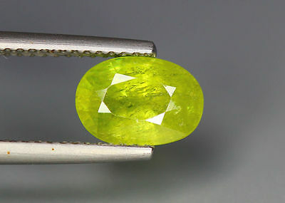 2.03 Cts_Simmering Ultra Nice Color Gemstone_100 % Natural Green Sphene