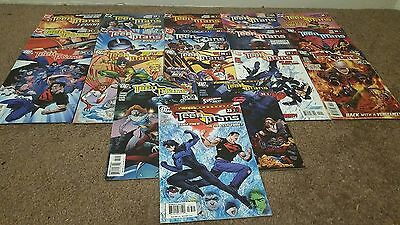 Teen Titans Vol.3 #16 to 33 (18 Issues) DC Comics Job Lot Collection Geoff Johns