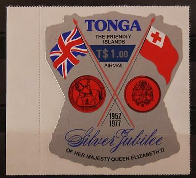 Tonga 1978 T $ 1.00 Opted Air Stamp Key Value of Set Catalogue £20 SG652 MNH