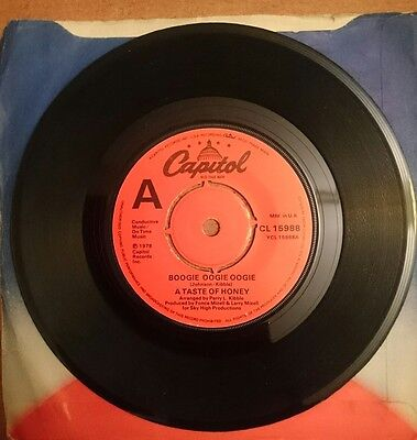 A Taste Of Honey- Boogie- Oogie- Oogie 1978 Uk Capital Nm