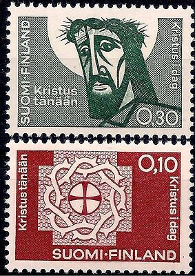 Finland 1963 Lutheran Association Christ Crown of Thorns Religion Animation MNH