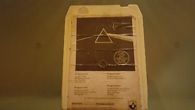 PINK FLOYD DARK SIDE OF THE MOON RARE 1973 UK ISSUE 8 track tape