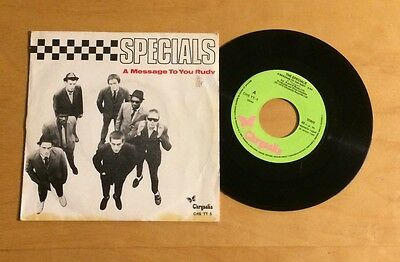 The Specials A Message To You Rudy Spanish Single