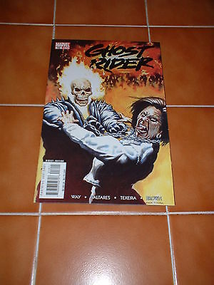 Ghost Rider  16.  Nm Cond. Dec 2007.  Way / Saltares / Texeira