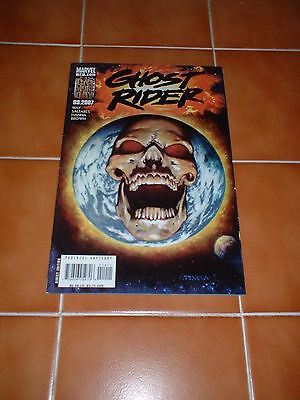 Ghost Rider  14.  Nm/nm- Cond. Oct 2007.  Way / Saltares / Texeira