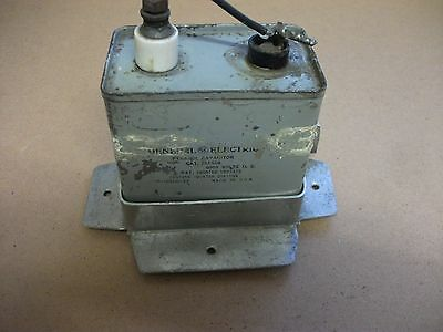 Vintage Radio Part. Large Military Capacitor.