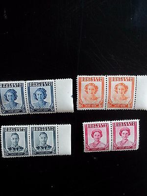 Stamps - SOUTHERN  RHODESIA set  VICTORY  ISSUE  MNH  in PAIRS
