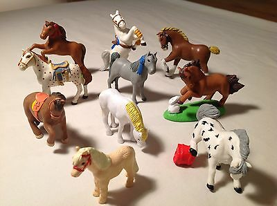 Pony In My Pocket ~ Animal Hospital ~ 10  Different Ponies / Horses