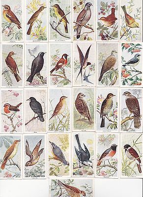 Carreras  1939 Birds of the Countryside set of 50