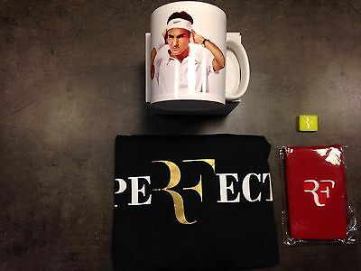 Pack collection tennis, t-shirt RF + PeRFect, mugg Roger FEDERER