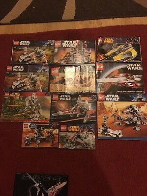 lego star wars instructions only Bundle