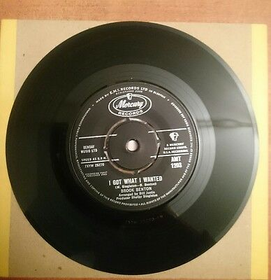 Brook Benton - I Got What I Wanted 1963 Uk Mercury Ex