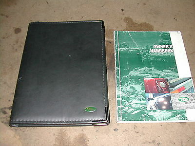 Land Rover Freelander 1,Owners handbook and wallet
