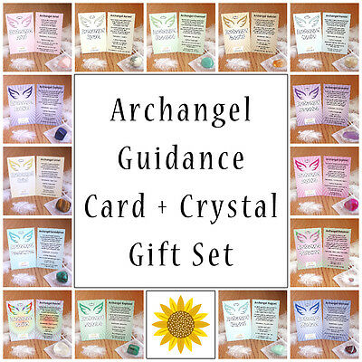 Archangel Guidance Card with Corresponding Crystal