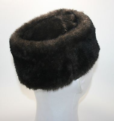 VINTAGE! Union Made Women's Fur Cossack Papakha Style Hat