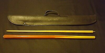 Snooker  Pool Cue 2 Section Case