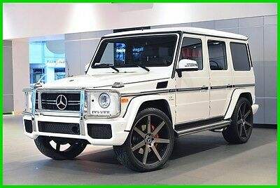 2015 Mercedes-Benz G-Class G63 AMG® 2015 G63 AMG Used Turbo 5.5L V8 32V Automatic 4MATIC SUV Moonroof Premium